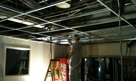commercial ceiling replacement